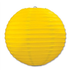 Yellow Paper Lanterns (3/Pkg)