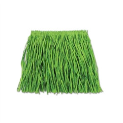 Green Child Mini Paper Raffia Hula Skirt (1/Pkg)