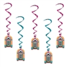 Jukebox Whirls (5/pkg)