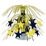 Star Mini Cascade Centerpiece (Black & Gold)