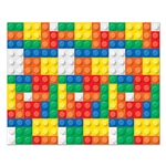 Transform your living room or classroom into a room popping with color with our Building Blocks Backdrop. Since it measures four feet by 30 feet, this large backdrop will transform any room into a colorful fun house! Comes one per package