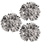 Hang them from the ceiling or place them on the tables around the room, Metallic Fluff Balls will add an elegant and luxurious finish to your decorations! They will dazzle and shine and are sure to catch your guest's attention.
