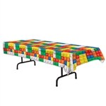 This plastic tablecover is colorful and creative, not to mention perfect for a child's birthday party. It measures 54 inches by 108 inches and will also protect your tables from any spilled cups of water or juice boxes. Comes one tablecover per package.