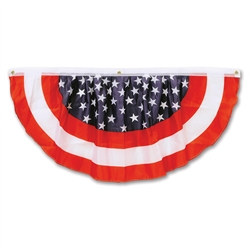Stars & Stripes Fabric Bunting