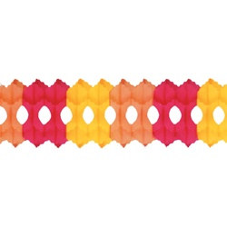 Yellow, Orange, and Red Arcade Garland