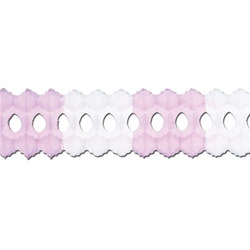 Pink and White Arcade Garland