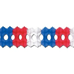 Red, White, and Blue Arcade Garland