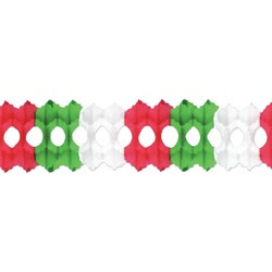 Red, White, and Green Arcade Garland
