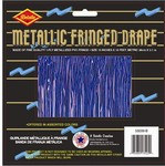 Purple 1-Ply Metallic Fringe Drape