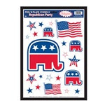Republican Party Peel N Place (25/sheet)