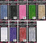 2-Ply Gleam N Curtain Metallic Curtain (Choose Color)