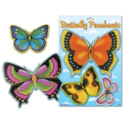Butterfly Punchouts (7 per package)