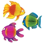 Color-Brite Tropical Fish, 8 in, 3-designs