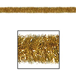 Gold Gleam 'N Tinsel Holiday Garland