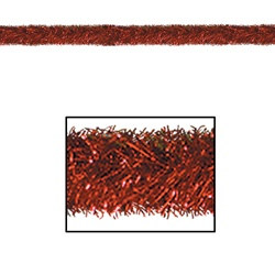 Red Gleam 'N Tinsel Holiday Garland