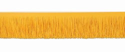 Golden Yellow Tissue Fringe Drape