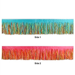 Multi-Color Tissue Fringe Drape