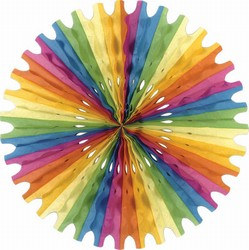 Multi-Color Art-Tissue Fan