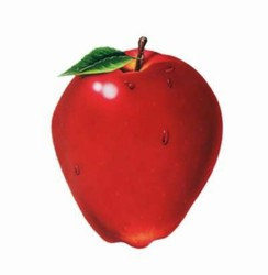 Apple Cutout, 18 inches
