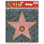 The Star Peel-N-Place looks great, fits nearly any party theme, and let's party goers know they're all stars!  They can be used on the floor, walls, window, or anywhere you can find a smooth, flat surface.
