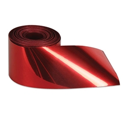 Red Flame Retardant Gleam 'N Streamer