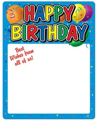 Birthday Partygraph™, 23inx18in