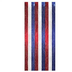 Red, White, and Blue 1-Ply Gleam N Curtain