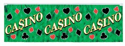 Metallic Casino Banner