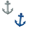 Assorted Plastic Ships Anchor (choose color)