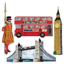 British Cutouts (4/pkg)