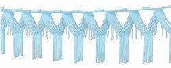 Light Blue Drop Fringe