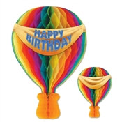 Tissue Hot Air Balloon, 13-1/2 inches