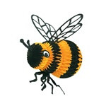 Art-Tissue Bee - 18 Inch