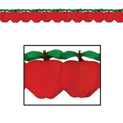 Tissue Apple Garland
