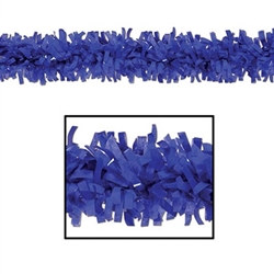 Blue Art-Tissue Festooning