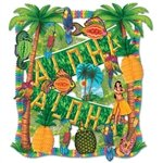 Luau Decorating Kit