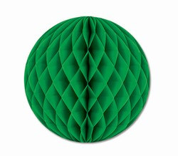 Green Art-Tissue Ball, 12 in