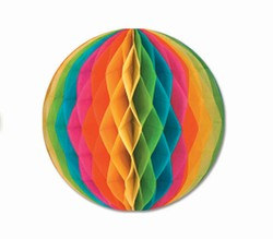 Multi-Color Art-Tissue Ball, 19 in