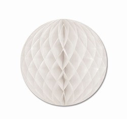 White Art-Tissue Ball, 14 in
