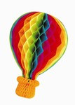 Tissue Hot Air Balloon, 41 inches