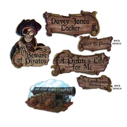 Pirate Cutouts