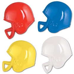 Plastic Football Helmet Wall Decoration
