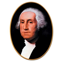George Washington Cutout