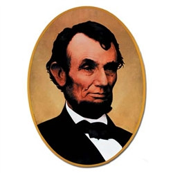 Abraham Lincoln Cutout