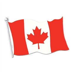 Canadian Flag Cutout