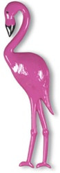 Plastic Flamingo Decoration (Assorted Designs - Sold Individually)