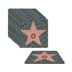Hollywood Star Coasters (8/pkg)