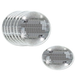 Disco Ball Coasters (8/pkg)