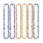 50th Birthday Beads (1/Pkg)