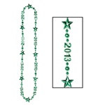 "Green ""Class Of 2013"" Beads-Of-Expression"